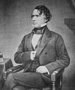 President Franklin Pierce brought the first Christmas Tree into the White House in 1853